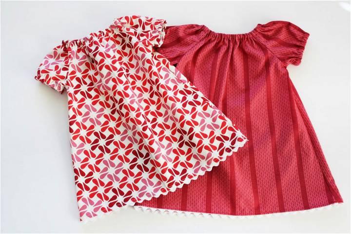 Baby Peasant Dress Free Pattern
