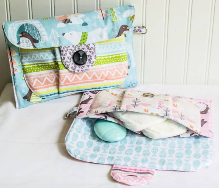 Big Pocket Baby Pouch Shower Gift