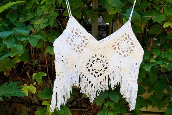 Boho Crochet Crop Top Pattern
