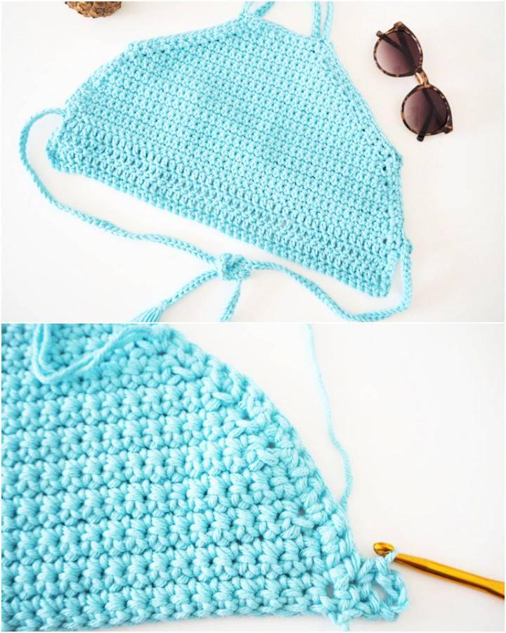 Crochet Hippie Halter Top Pattern
