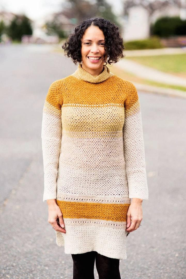 Crochet Long Sleeve Top