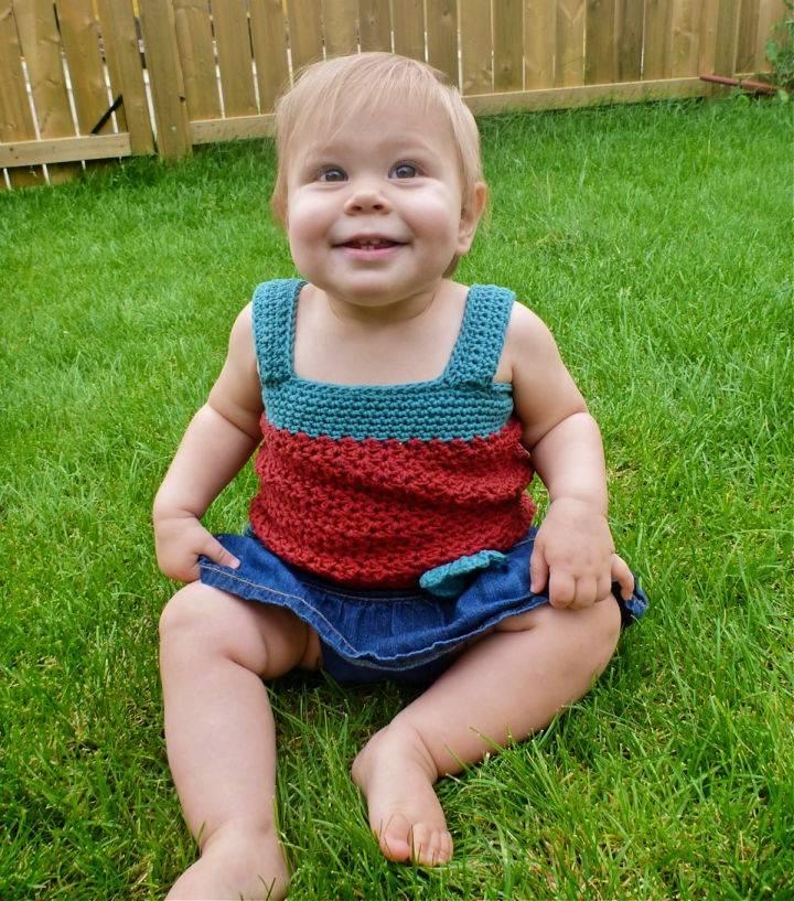 Crochet Selina Tank Top for Infant