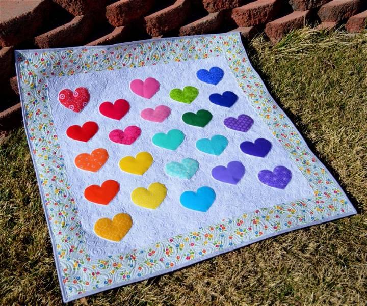 Cutie Pie Baby Quilt Pattern
