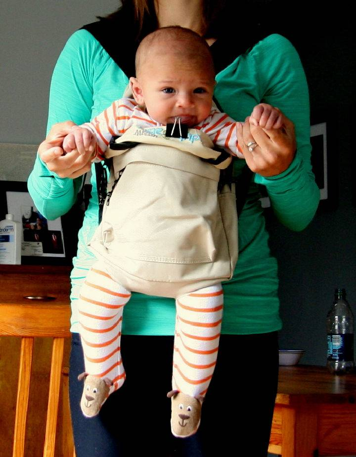 DIY Baby Carrier The Baby Backpack