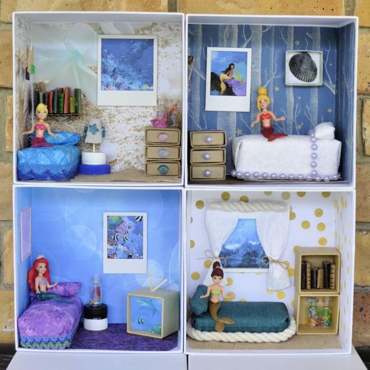 DIY Box Dollhouse