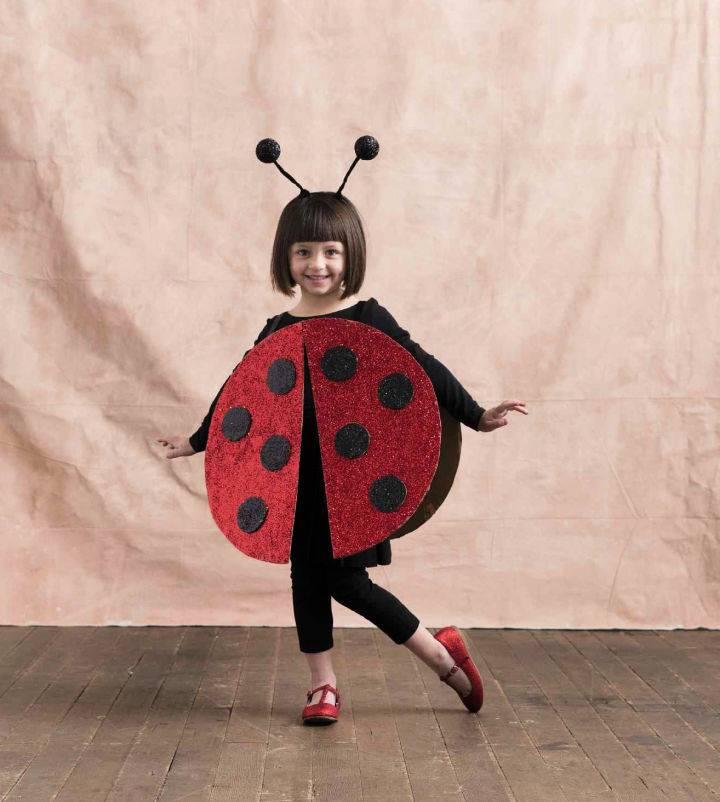 DIY Ladybug Costume For Kids