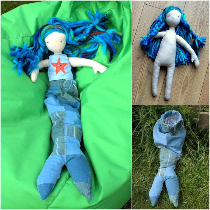 DIY Mermaid Waldorf Doll
