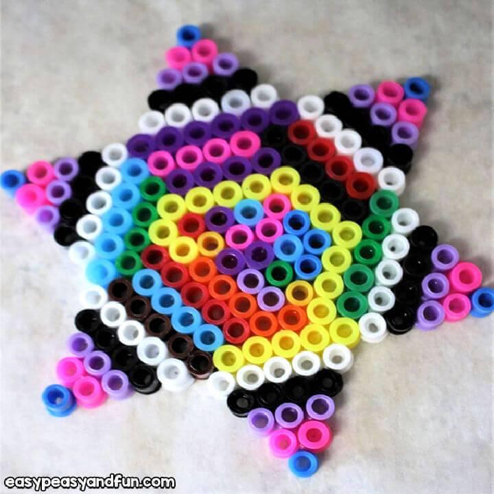 DIY Perler Bead Star