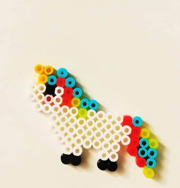 DIY Perler Bead Unicorn