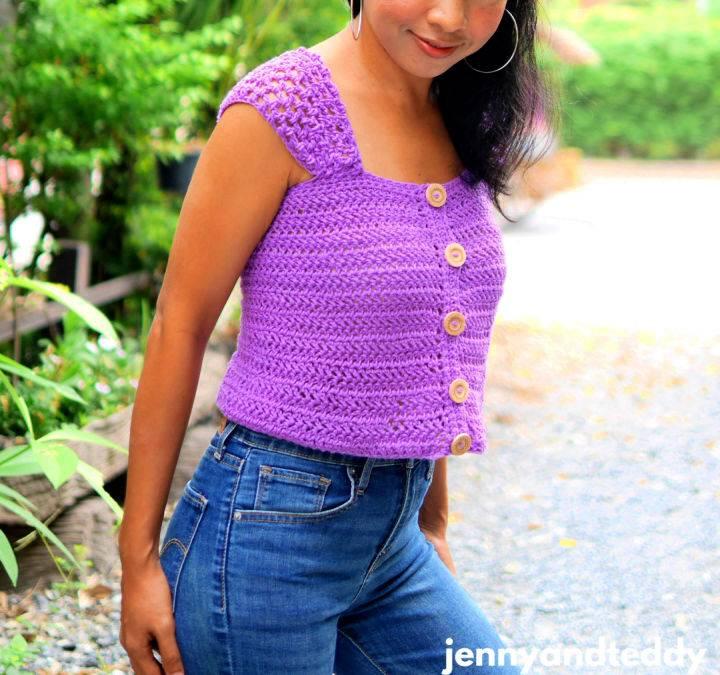 Everyday Crop Top Crochet Pattern