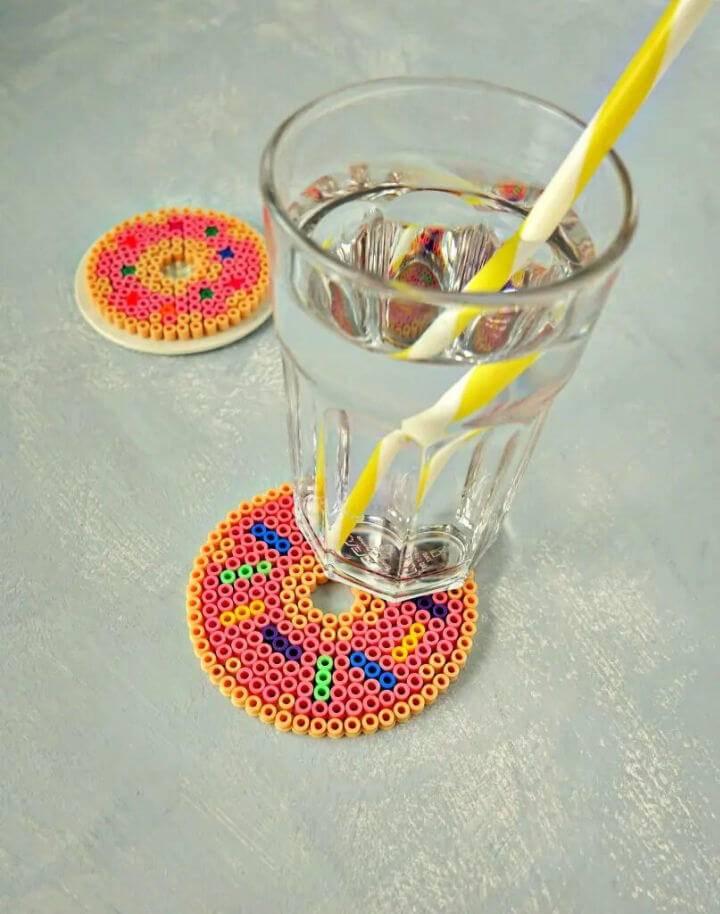 Fast Food Perler Bead Coasters