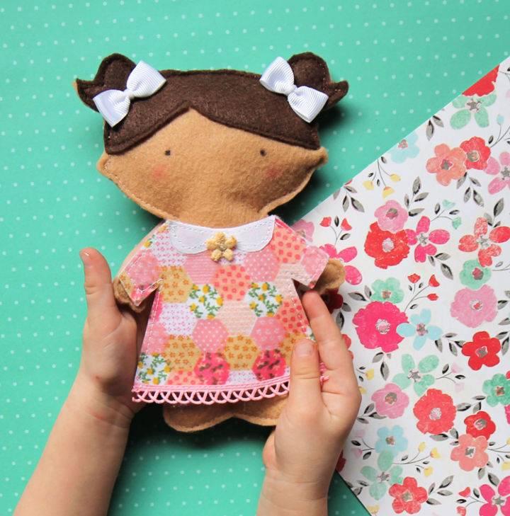 Felt Paper Doll Pattern