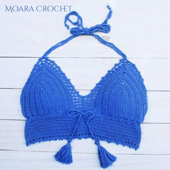 Free Crochet Bra Top Pattern
