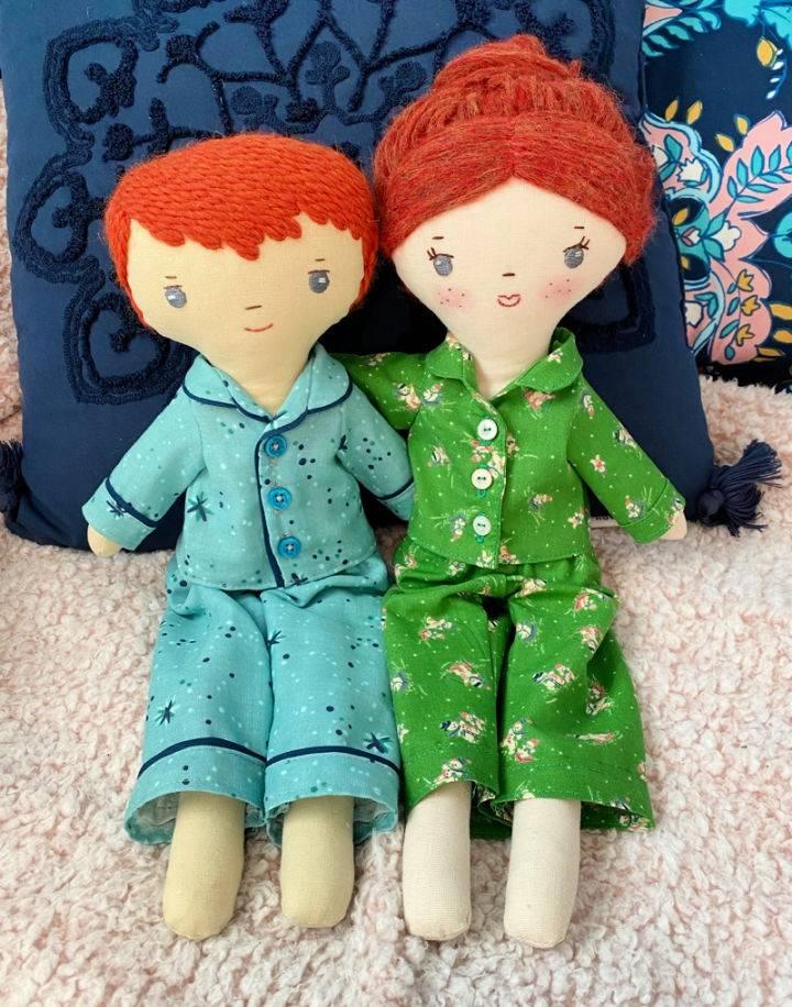 Free Doll Pajamas Pattern For The Make Along Club