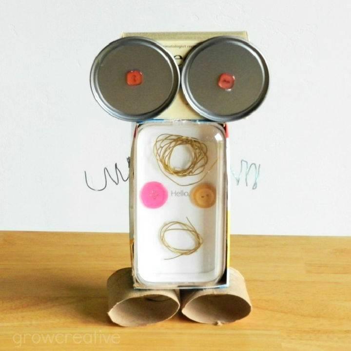 Garbage Bots Kid Craft