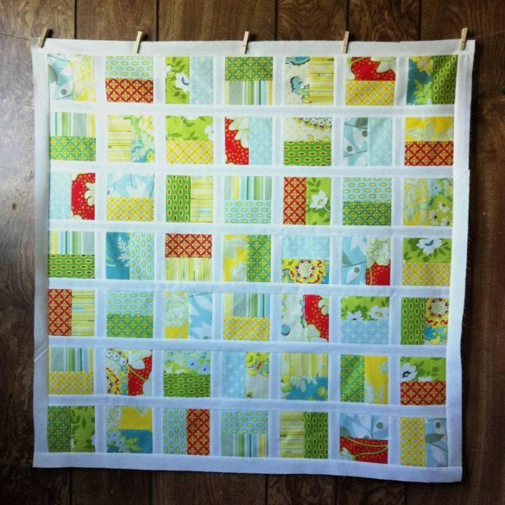 Half Square Quilt Pattern