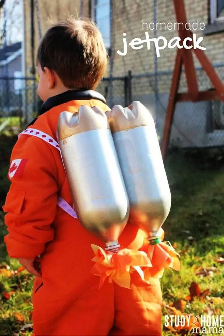 Homemade Jet Pack for Boys