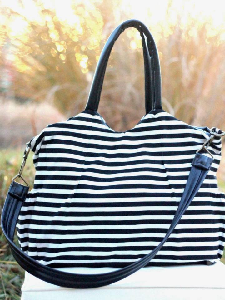 Homemade Kate Spade Diaper Bag
