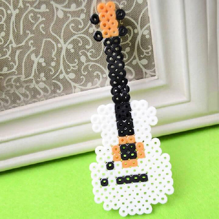 How to Make a Cool Perler Bead Guitar