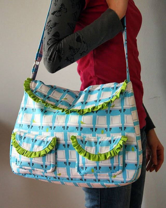 How to Sew The Frou Frou Bag
