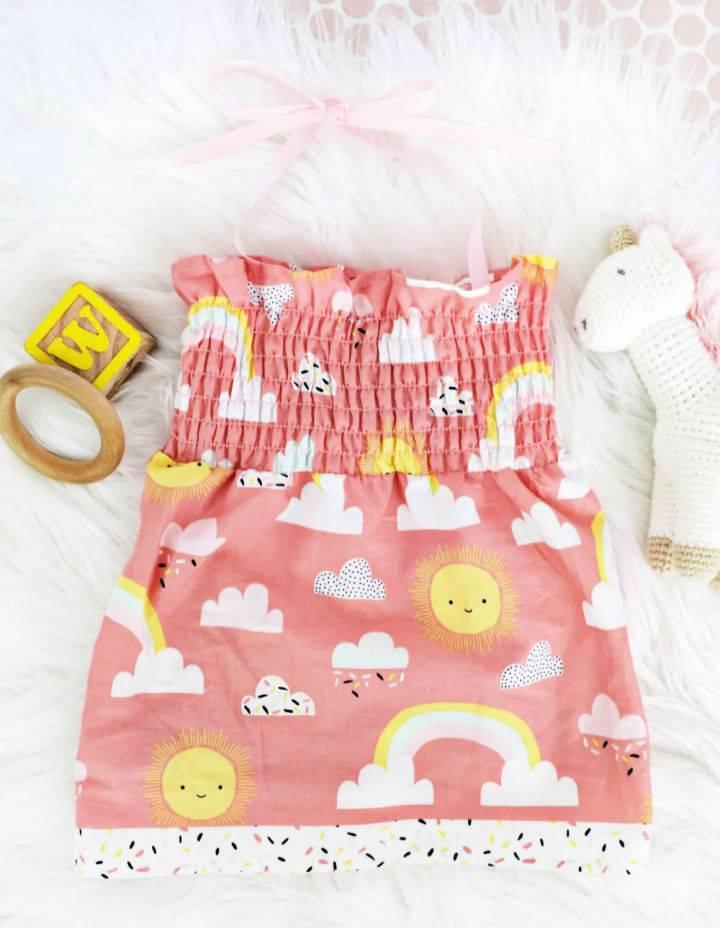 Infant School Spirit T shirt Dress