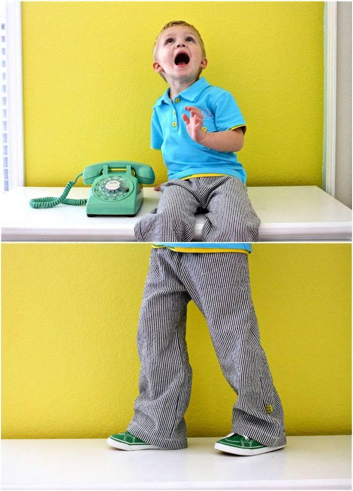 Kid Pants Sewing Pattern