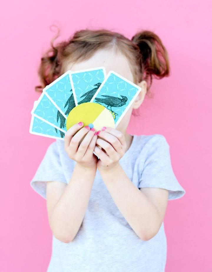 Kids Card Wheel DIY