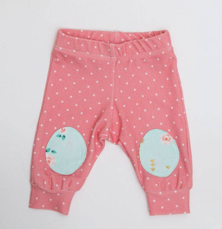 Knee Patch Baby Pants With The Cricut Maker