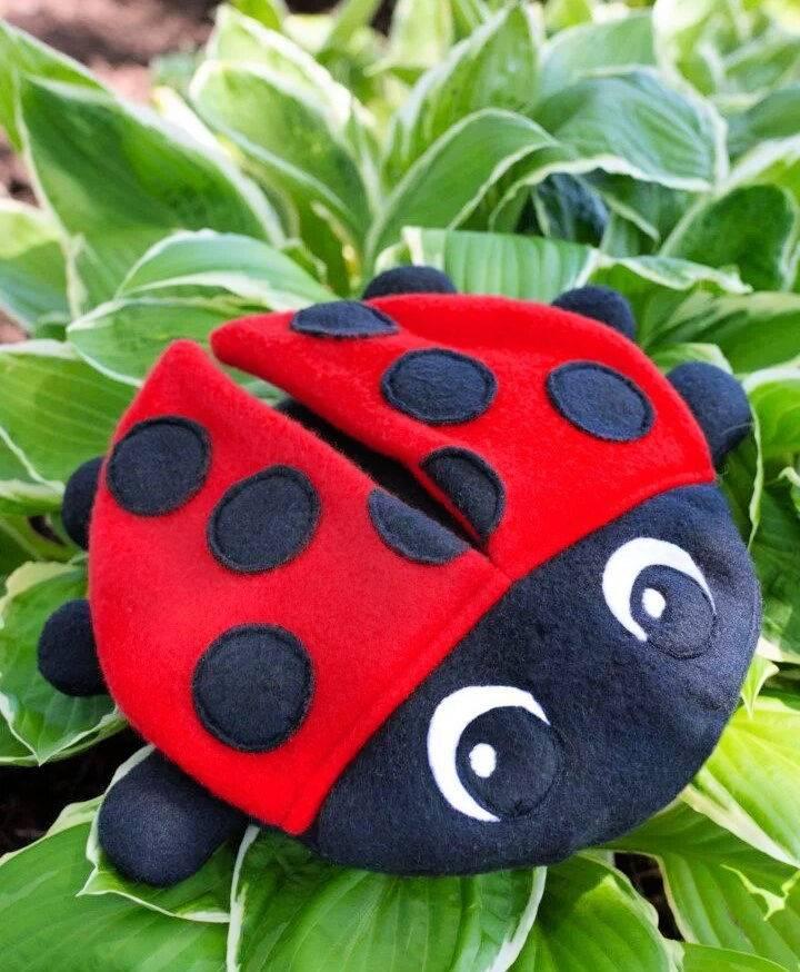 Ladybug Stuffed Animal Sewing Pattern