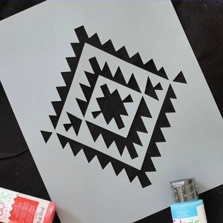 Make A Stencil With A Cricut