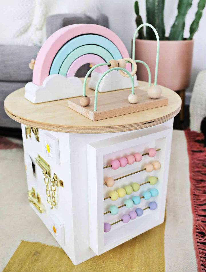 Making Your Own Toddler Activity Center