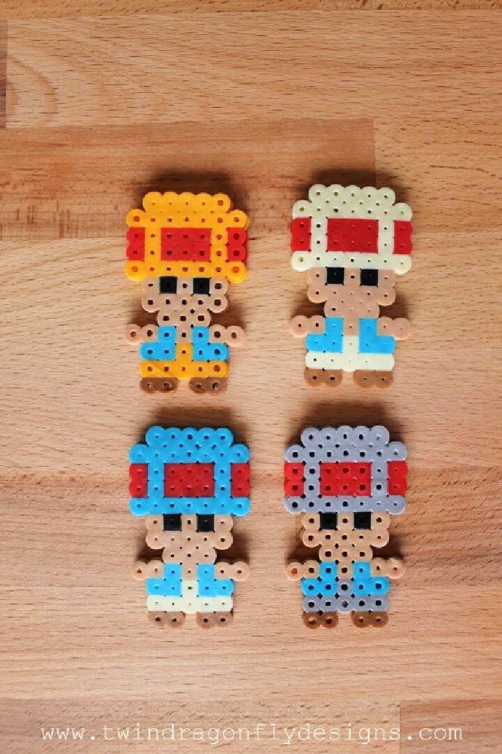 Mario Perler Bead for Kids