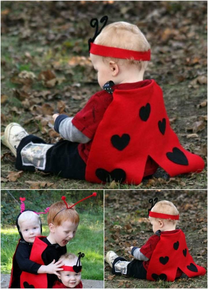 No Sew Ladybug Costume Tutorial