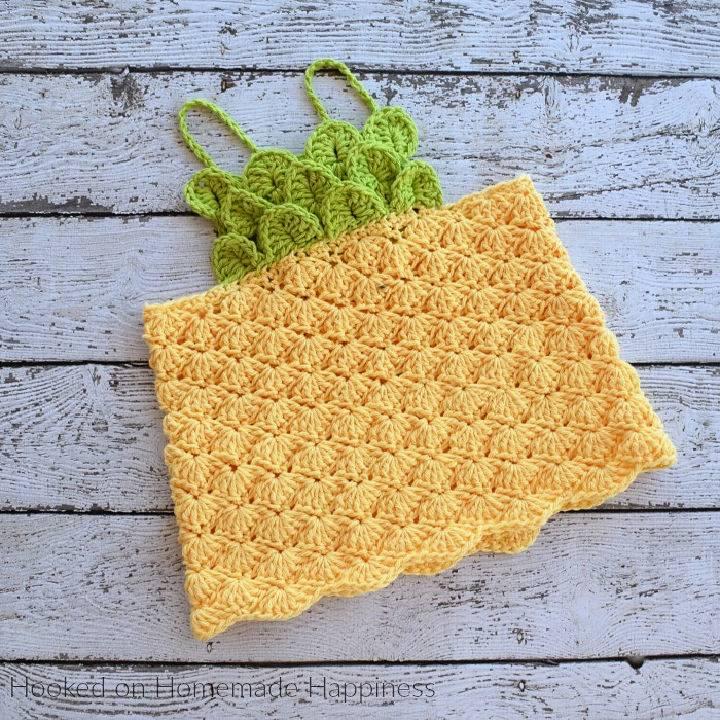 Pineapple Crochet Top Pattern