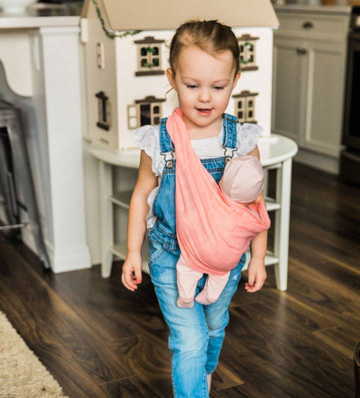 Quick And Easy Doll Sling