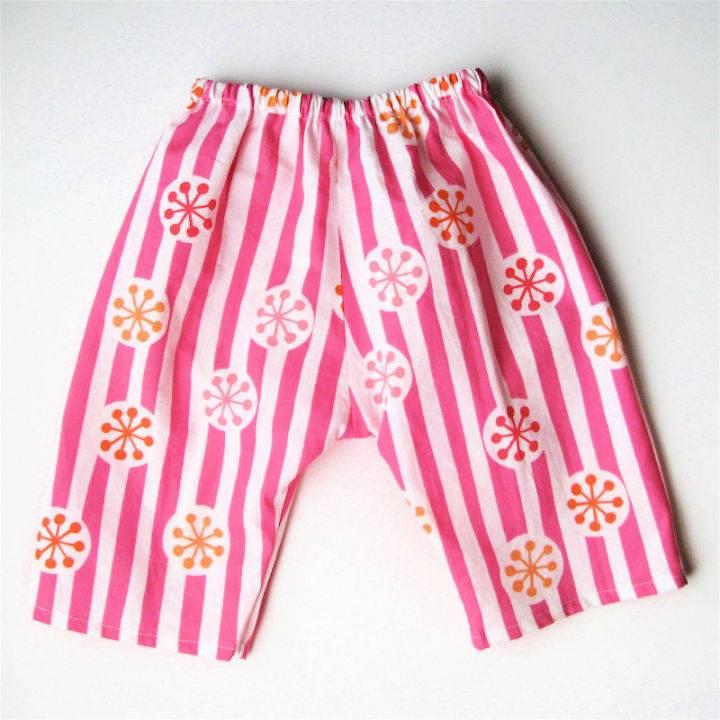 Raes Basic Newborn Pant Sewing Pattern