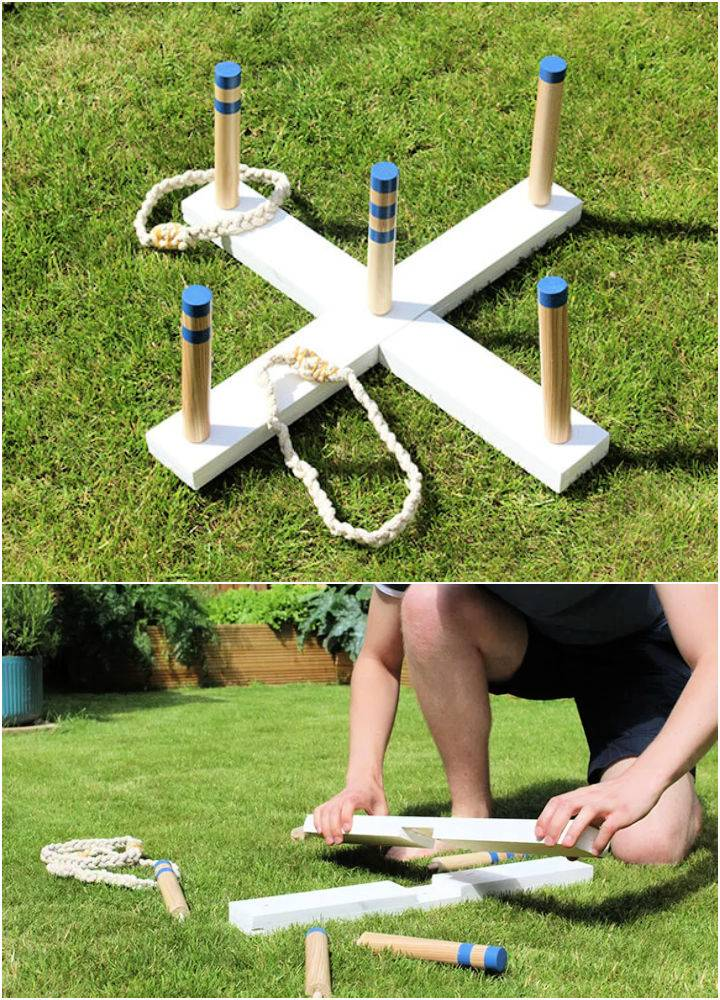 Ring Toss Game Perfect For Garden Parties