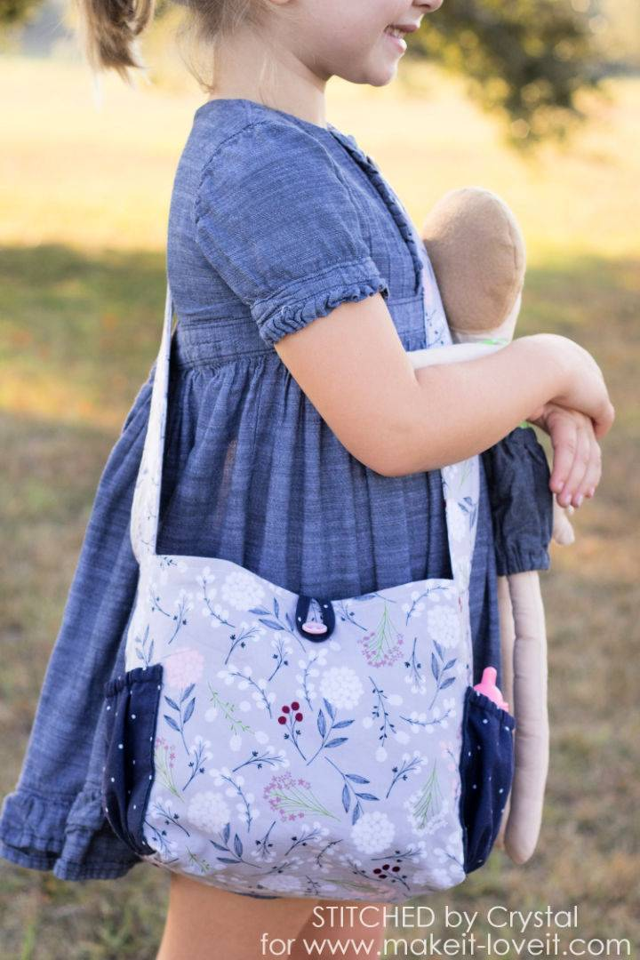 Sew A Doll Diaper Bag