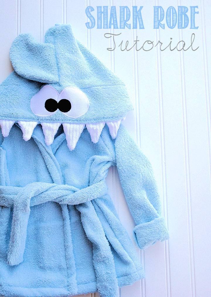 Shark Baby Robe Pattern