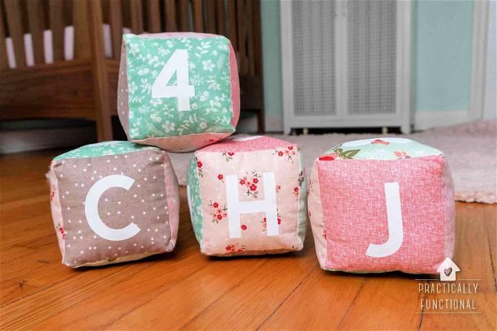 Soft Baby Blocks For Kids