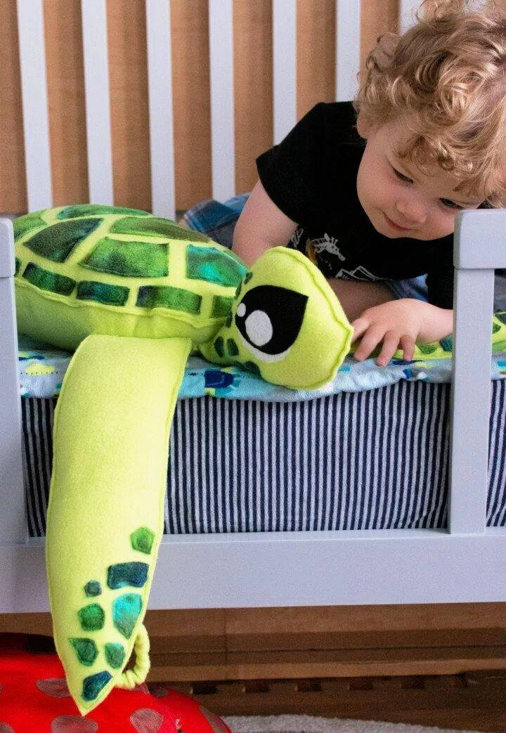 Stuffed Sea Turtle Sewing Pattern
