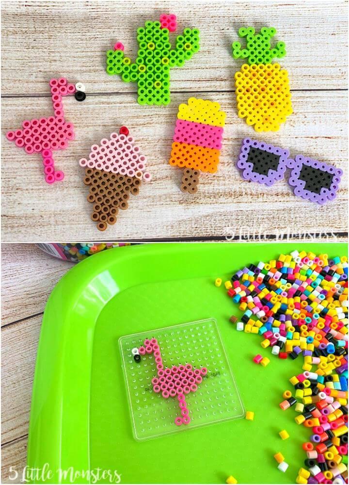 Summer Perler Bead Pattern
