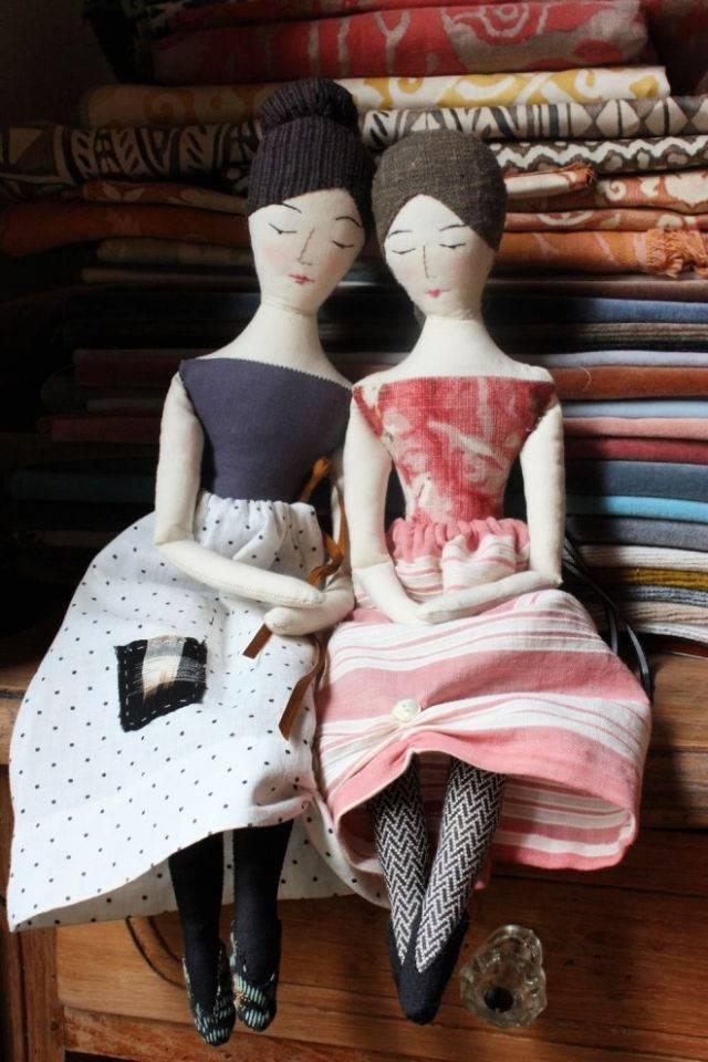 The Elegant Rag Doll Sewing Pattern