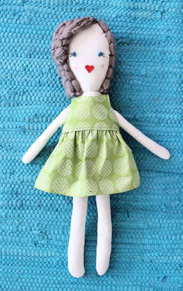 Traditional Rag Doll Pattern