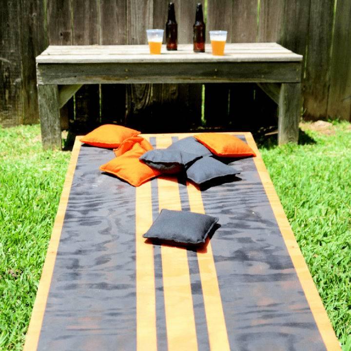 Backyard Cornhole Board