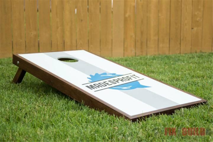 Cornhole Boards with Custom Logos