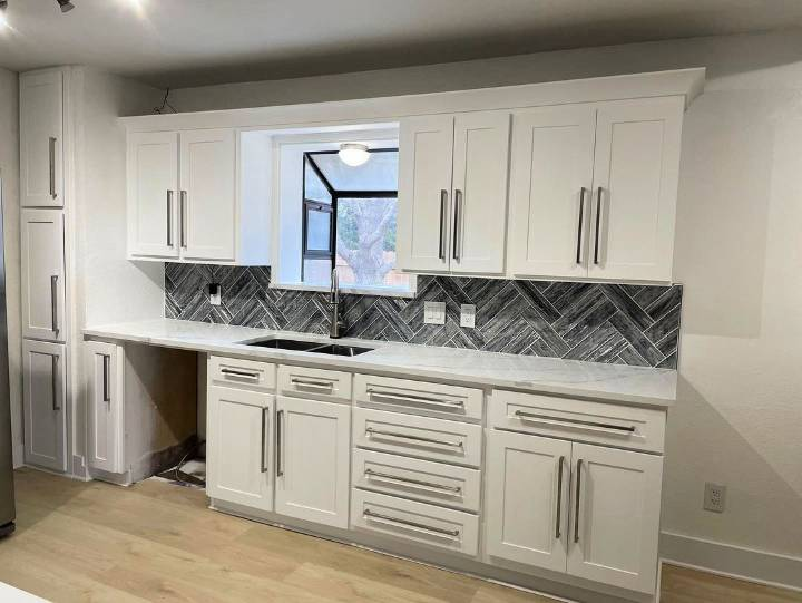 DIY Kitchen Cabinet Restoration Renewal
