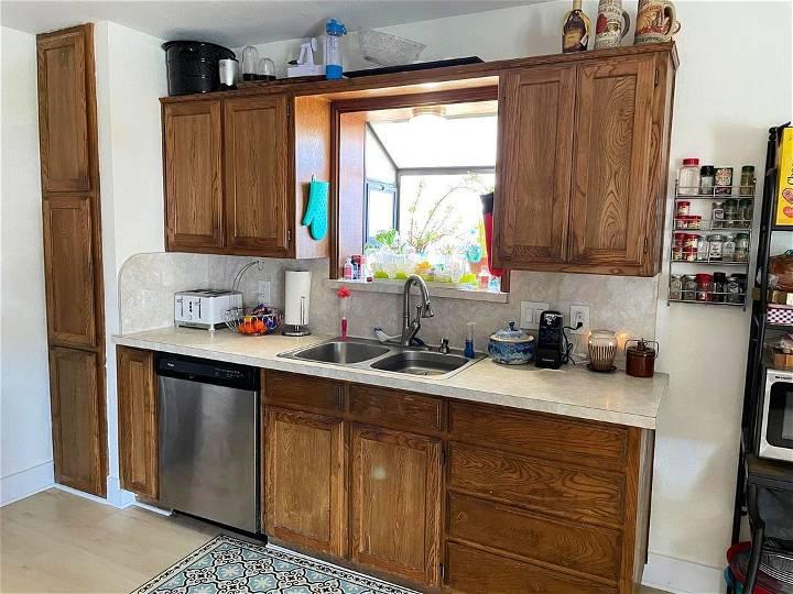DIY Kitchen Cabinet Restoration