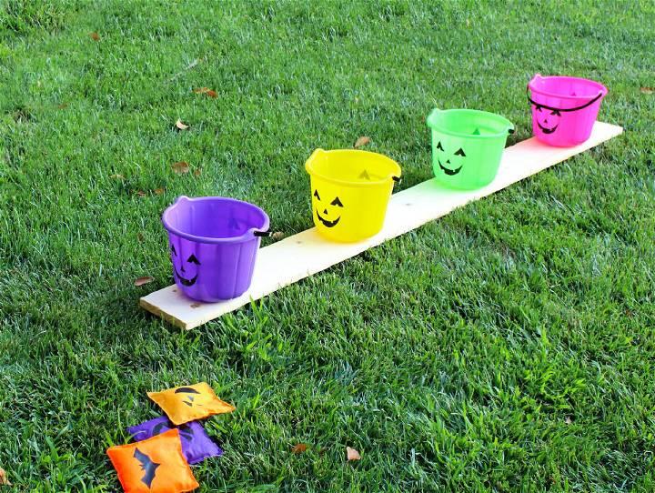 Halloween Bean Bag Bucket Toss
