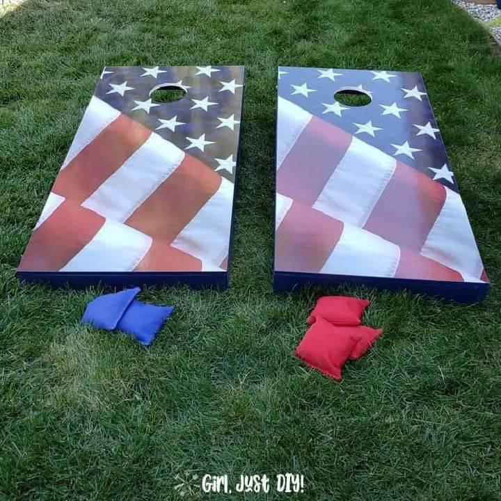 How to Build Cornhole Board Set 2